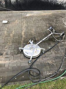 mycie wysokociśnieniowe kostki brukowej